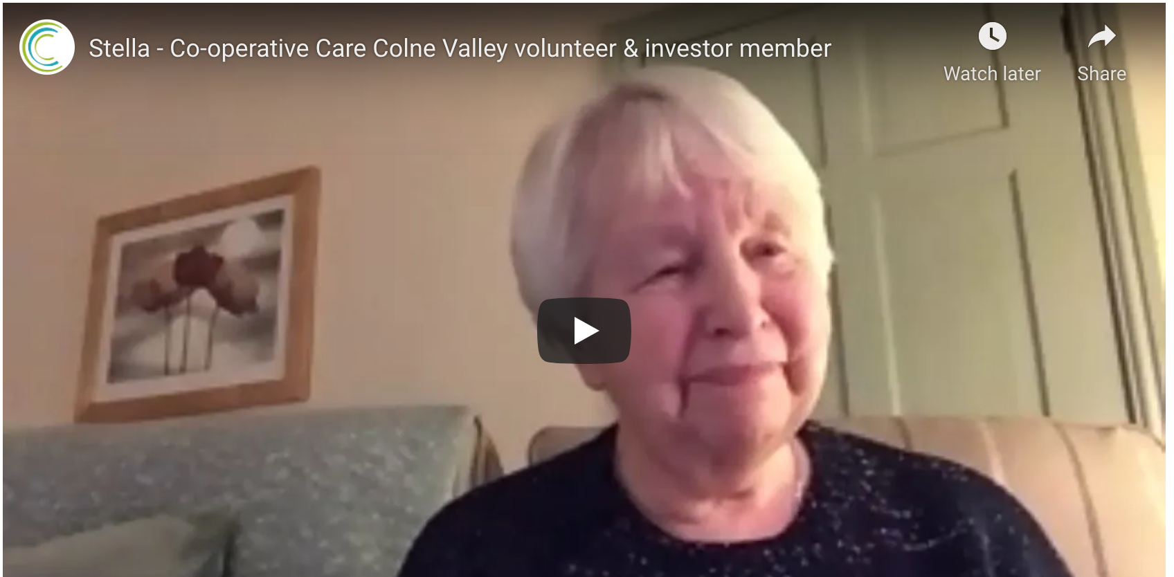 Volunteering in home care with Cooperative Care Colne Valley