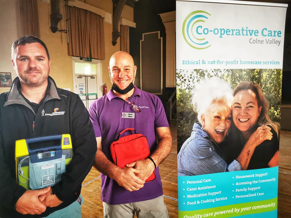 Defib CPR training Colne Valley
